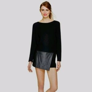 WILFRED FREE Liah Skort in Black size Small